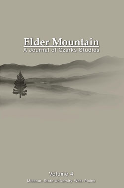 "Cover of ""Elder Mountain: A Journal of Ozarks Studies"" Volume 4"