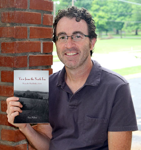 "Per course instructor Dave Malone with his new book ""View from the North Ten"""