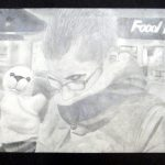 """THIS PENCIL DRAWING by Sara Corniels of Willow Springs Middle School won the """"Best of Show"""" ribbon at the 2011 Art Around Town exhibit. This year's exhibit is set for April 20-30 on the mezzanine at the West Plains Civic Center and is being hosted by Missouri State University-West Plains' University/Community Programs Department. (Photo provided)"""