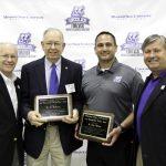 Awards presented at annual alumni picnic