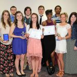 Student athletes receive awards at annual sports banquet