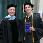 Seth Hadley named Outstanding AA/AS/AAS Student at commencement