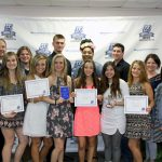 Student athletes receive awards at annual sports reception