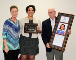 Amy Lusk Sheble inducted to Grizzly Hall of Fame