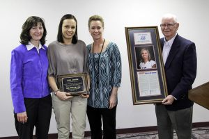 Luiza Jarocka inducted to Grizzly Hall of Fame