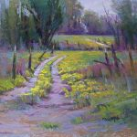 """LOCAL ARTIST MICHAEL WALSH says he loves to paint suggested pathways of streams, rivers and country passages like this one in """"Morning Glory."""" Walsh's artwork will be on display Oct. 23 to Nov. 12 at The Gallery on the Mezzanine at the West Plains Civic Center. The exhibit is being sponsored by Missouri State University-West Plains. (Photo provided)"""