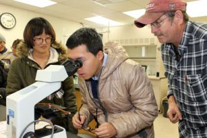 Chinese students visit Mountain Grove campus