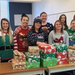 Student nurses provide gifts for Bridges Program