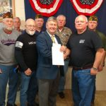John T. Kirk VFW Post 1828 makes donation for Veterans Center