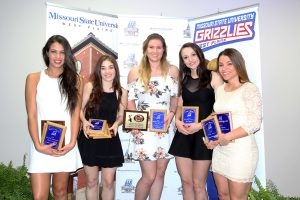 Student-athletes honored at annual Grizzly Athletics Sports Reception