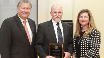 Jim Hart receives award for education excellence