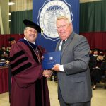 Terry 'Bo' Pace receives honorary degree at commencement