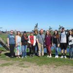 """MEMBERS OF THE DARR Honors Program at Missouri State University-West Plains posed for a group photo at the Zaanse Schans in the Netherlands during their short-term study away trip in May to Europe. The historical community serves as an """"outdoor museum"""" to preserve the traditional windmills for which the country is known. They also visited Paris, France. From left are students Madison Knight, Salem; Blair Cook, Plato; Kaitlyn Jones, Nixa; Gretta Phillips, Winona; Weston Phipps, West Plains; Darr Honors Program Director Alex Pinnon and his wife, Trista; Rosemary Driscoll, Brandsville; Will Tillman, Thayer; Destiny Johnson, Bakersfield; and Brett Lair, West Plains. (Missouri State-West Plains Photo)"""