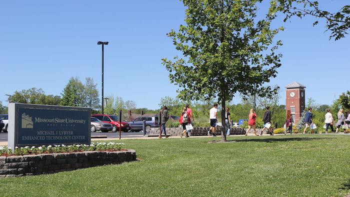 Tour of Missouri State University-West Plains campus at STAR Orientation.