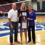 Patricia Gandolfo inducted into Grizzly Hall of Fame