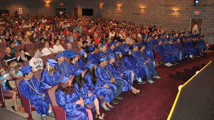 The 2016 graduates of the College Readiness Program.