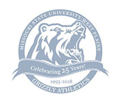 Grizzly Athletics' Twenty-Fifth Anniversary Logo
