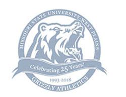 Grizzly Athletics' Twenty-Fifth Anniversary Logo