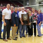 Bob and Donna Frey receive Grizzly Track Award