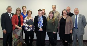 Several staff members recognized for years of service