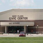 West Plains Civic Center East Entrance