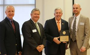 Frank Priest receives award for education excellence
