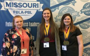 5 students compete at PBL State Leadership Conference