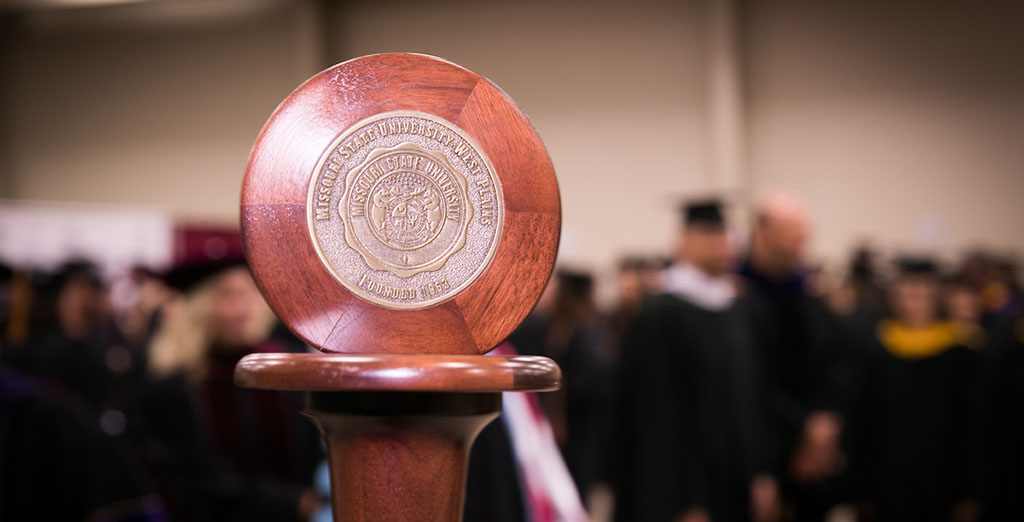 The Missouri State University-West Plains mace