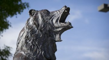 Pahlmann's establish scholarship in honor of Grizzly Athletics's 25th anniversary