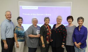 Officers named for the Friends of the Garnett Library Executive Committee