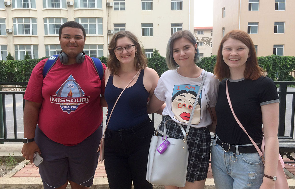 4 Students Participating In China Semester Study Away