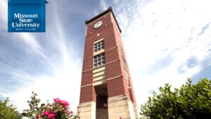 Zoom background: Bell Tower at Missouri State-West Plains
