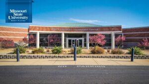 Zoom background: Lybyer Enhanced Technology Building of Missouri State-West Plains